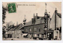 - CPA AUBIGNY-SUR-NÈRE (18) - Rue Des Dames 1913 (avec Personnages) - Photo VASSELLIER - - Aubigny Sur Nere