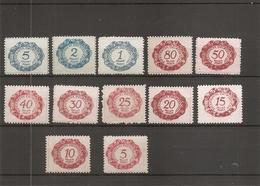 Liechtenstein ( Taxes 1/12 XXX -MNH) - Taxe
