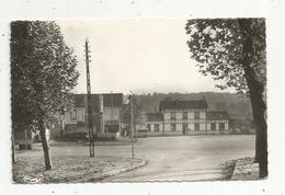 Cp, Chemin De Fer , 76 ,  AUMALE , La Gare ,  Voyagée - Gares - Sans Trains