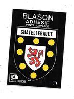 11202 - CHATELLERAULT : Blason Ecusson Adhésif - Chatellerault