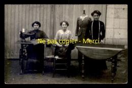54 - CHALIGNY - COUTURIERES AU TRAVAIL - PHOTO E. NICOLLE - CARTE PHOTO ORIGINALE - Autres Communes
