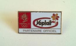 PIN'S YOPLAIT - JEUX OLYMPIQUES ALBERTVILLE 1992 - Jeux Olympiques