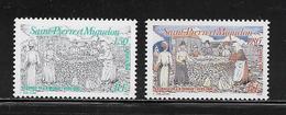SAINT PIERRE ET MIQUELON  (SPM9 - 228 )  1994  N° YVERT ET TELLIER  N° 595/596  N** - Unused Stamps