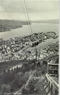 Hordaland, Bergen; Fløibanen (Panorama) - Not Circulated. (Mittet & Co.) - Noorwegen