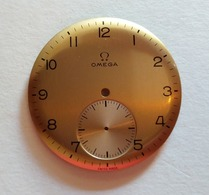 Omega,dial,cadran,from Cal.T1.265,266,267 In Campaign Color.33mm - Watches: Old