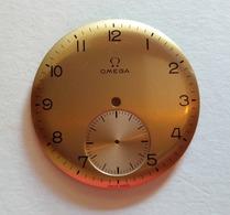 Omega,dial,cadran,from Cal.T1.265,266,267 In Campaign Color.33mm - Horloge: Antiek