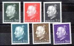 Serie De Mónaco N ºYvert 1141/46 ** Valor Catálogo 15.0€ OFERTA (OFFER) - Mónaco