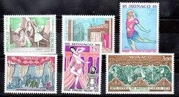 Serie De Mónaco N ºYvert 1190/95 ** Valor Catálogo 14.2€  OFERTA (OFFER) - Mónaco