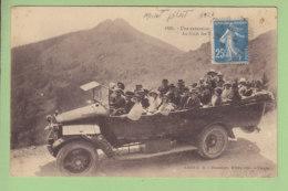 Autocar : Excursion Au Mont Pilat, Au Fond Les Trois Dentst. 2 Scans. Edition Blanchare - Mont Pilat
