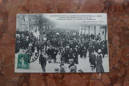 TROYES EN CHAMPAGNE (10) - MANIFESTATION DES VIGNERONS CHAMPENOIS DE L'AUBE - Troyes
