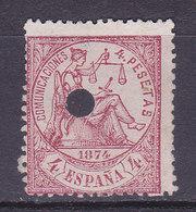 ESPAGNE, Régence, Justice,  N° 149, Télégraphe, Cote: 12 €( ES190801/8.2) - 1873-74 Regentschaft