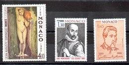Serie De Mónaco N ºYvert 1226+1227+1228 ** Valor Catálogo 13.5€ OFERTA (OFFER) - Nuevos