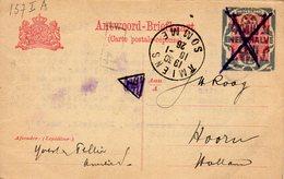 16 Janv 1926  Bk G 157  I A  Van AMIENS Naar Hoorn - Interi Postali
