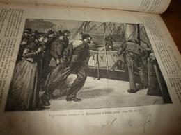 1882 JDV:English Rescuers (Ellerthorpe,Buxton,John Mantle,William Darling,etc);Voyages De La Junon (Madère:suite);etc - Kranten