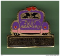 JUST MARRIED *** ISABELLE ER THIERRY *** 1035 - Non Classés