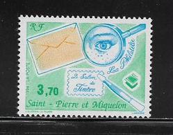 SAINT PIERRE ET MIQUELON  (SPM9 - 245 )  1994  N° YVERT ET TELLIER  N° 606  N** - Unused Stamps