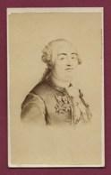 010819 PHOTO ANCIENNE CDV - Roi De France - Louis XVI - Identified Persons
