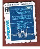 CILE (CHILE)  - SG 1146 -    1988 FIDA '88: INT. AIRFAIR   -     USED ° - Cile
