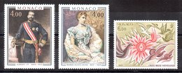 Serie De Mónaco N ºYvert 1245/46+1247 ** Valor Catálogo 12.5€ OFERTA (OFFER) - Nuevos