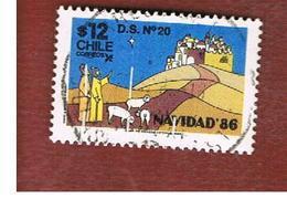 CILE (CHILE)  - SG 1078 -    1986  CHRISTMAS    -     USED ° - Cile