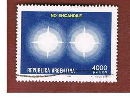 ARGENTINA - SG 1732  - 1981  ROAD SAFETY: DON' T DAZZLE  -   USED ° - Argentina