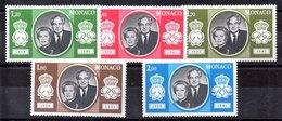 Serie De Mónaco N ºYvert 1265/69 ** Valor Catálogo 15.5€ OFERTA (OFFER) - Nuevos