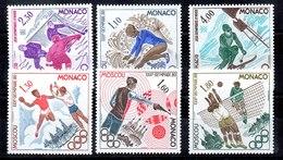 Serie De Mónaco N ºYvert 1218/23 ** Valor Catálogo 6.35€ OFERTA (OFFER) DEPORTES (SPORT) - Nuevos