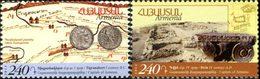 ARMENIE Anciennes Capitales 2v 2014 Neuf ** MNH - Arménie