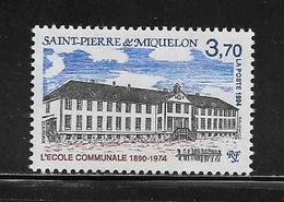 SAINT PIERRE ET MIQUELON  (SPM9 - 253 )  1994  N° YVERT ET TELLIER  N° 607  N** - Unused Stamps