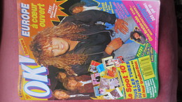 MAGAZINE OK. N° 668. 1988. (Scan Sommaire) - People