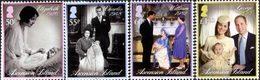 ASCENSION Dynastie Royale-Baptême 4v 2014 Neuf ** MNH - Ascension (Ile De L')