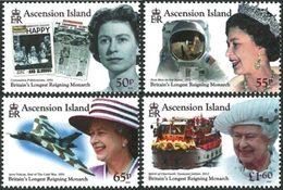 ASCENSION Régne Reine Elizabeth II 4v 2015 Neuf ** MNH - Ascension (Ile De L')