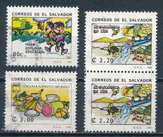 °°° EL SALVADOR - Y&T N°1132/34/35 - 1992 °°° - El Salvador