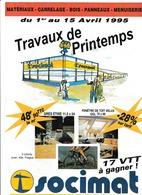 Publicité Socimat à St Pol Sur Mer Dunkerque: 6 Pages 21x29 Avec Tarifs ( Bergues ,St Quentin, Hazebrouck, Amiens... - Publicités