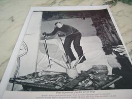 ANCIENNE PUBLICITE  JEAN CLAUDE KILLY  1968 - Sports D'hiver