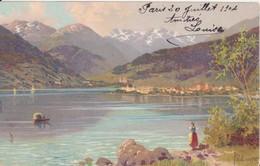 CP - Joli Paysage - Bords D'un Lac - Cartes Postales