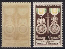 YVERT 927 N** MNH -Centenaire De La MEDAILLE MILITAIRE  - SCAN RECTO-VERSO = SANSURPRISE - France