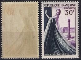 YVERT 941 N** MNH - HAUTE COUTURE PARISIENNE Mannequin Et Place Vendôme - SCAN RECTO-VERSO = SANSURPRISE - France