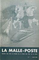 La Malle Poste N° 1   Bulletin Des Amis Du Musée De La Poste Des Pays De La Loire Mars 1984 24 Pages - Bibliografie