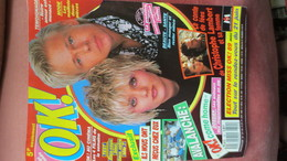MAGAZINE OK. N° 701. 1989. (Scan Sommaire) - People