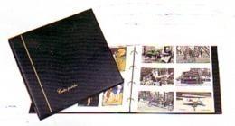 CLASSEUR ALBUM POUR 240 CARTES POSTALES FOND BLANC CP Modernes 20 FEUILLES - PV CONSEILLE 53.80 CARTE POSTALE - Matériel