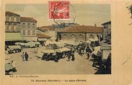 CPA 31 Haute Garonne Rieumes La Place D'Armes Toilée - Autres Communes