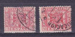 ESPAGNE, Telegraphe, Lot 2 De  Timbres   ( ES190801/13.3) - Télégraphe