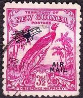 NEW GUINEA 1934 3.5d Aniline Carmine SG194a Used - Papua New Guinea