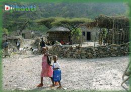 1 AK Djibouti * Ansicht Von Bankouale - Eine Stadt In Der Region Tadjoura * - Dschibuti