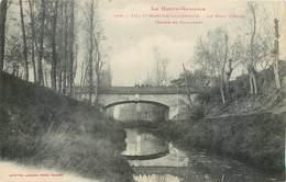 CPA 31 Haute Garonne Villefranche (de) Lauragais Le Pont L'Hers Route De Nailloux - Francia