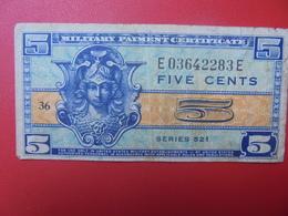 U.S.A 5 CENTS 1954 CIRCULER (B.5) - 1954-1958 - Reeksen 521