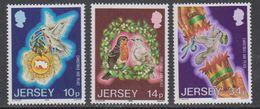 Jersey 1986 Christmas 3v ** Mnh (43932A) - Jersey