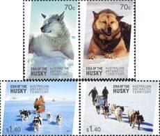 ANTARCTIQUE AUSTRALIEN Huskies 4v 2014 Neuf ** MNH - Unused Stamps