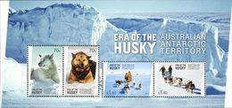 ANTARCTIQUE AUSTRALIEN Bloc Huskies 2014 Neuf ** MNH - Unused Stamps